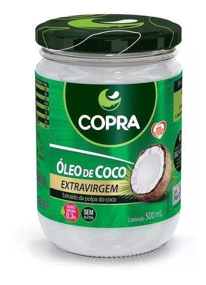 Óleo De Coco Extra Virgem 500ml - Copra Original