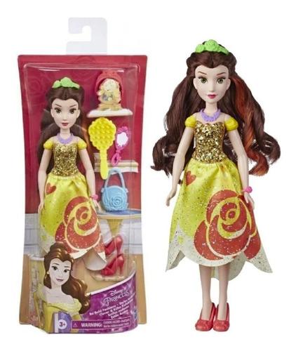 Muñeca Bella Disney Princesa Estilo Audaz Hasbro Playking