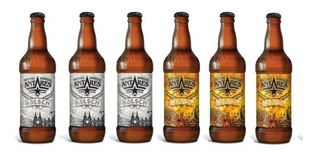 Cerveza Antares Mix Pack 3 Kolsch Y 3 Honey X 500ml.
