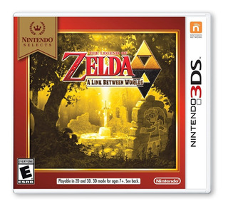 The Legend Of Zelda: A Link Between Two Worlds - 3ds