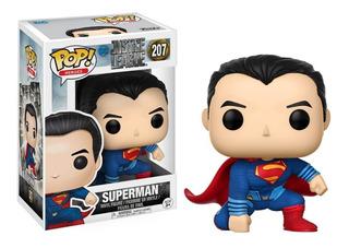Funko Pop Dc Justice League Superman #207 Original
