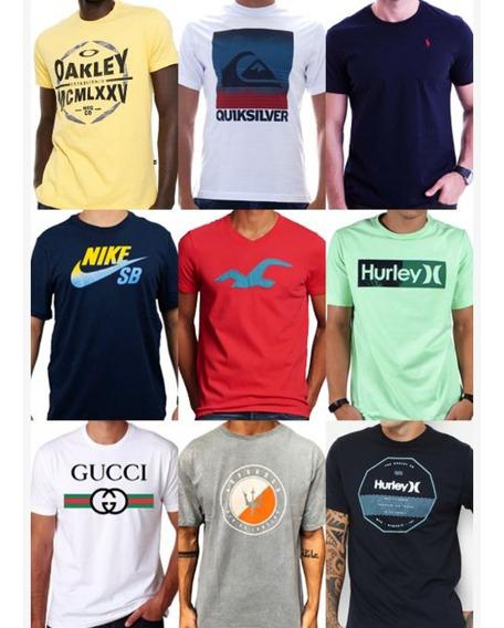 Kit50 Camisetas Marcas Famosas 1°) Linha