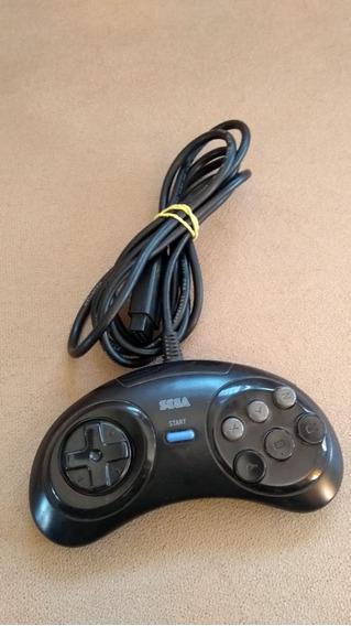 Controle Mega Drive 6 Botões Original Tectoy Perfeito Estado