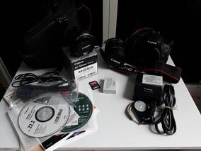 Canon T3i + Lente Ef 18-55mm + Filtro Uv + Cartão 16gb