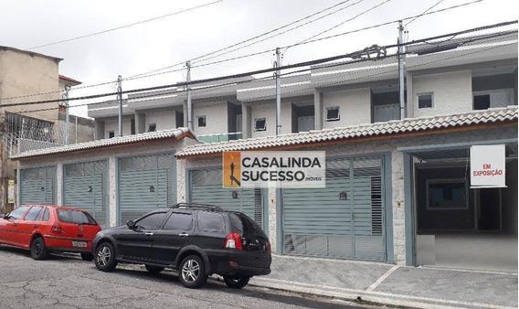 Sobrado 132m² 3 Dormts. 2 Vagas Próx. À Rua Praia De Mucuripe - So0629 - So0629