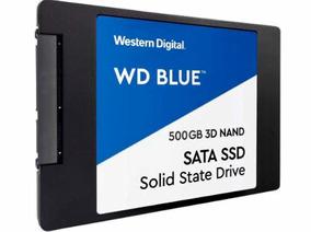 Ssd Wd Blue 500gb Sata 6gb S 2,5 Polegadas - 3d Nand