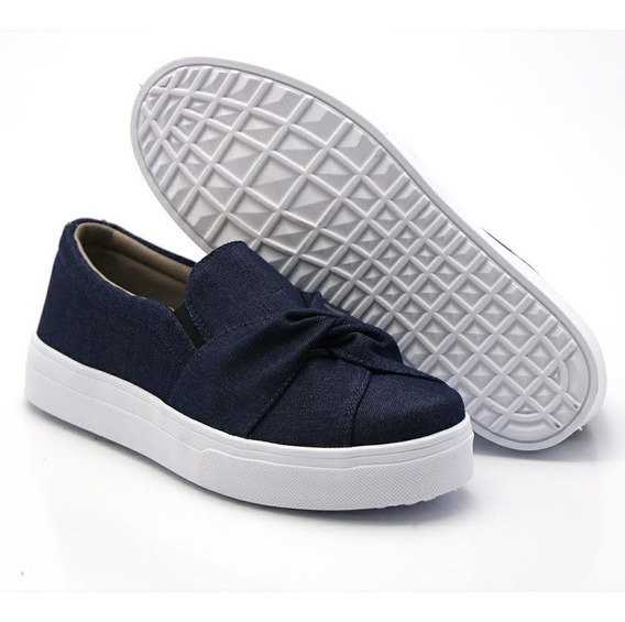 Slip On Jeans (modelo Elástico) Casual