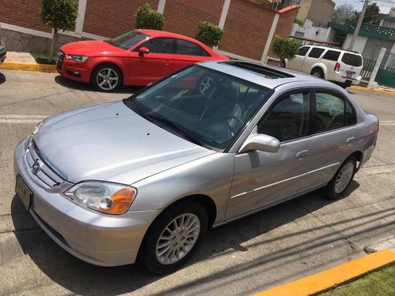Honda Civic Lx Sedan At 2002