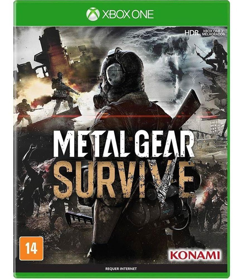 Jogo Mídia Física Metal Gear Survive Original Para Xbox One