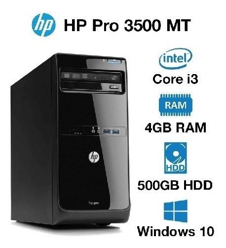 Cpu Hp Core I3 4gb Ram Hd 500gb Placa Vídeo 1gb