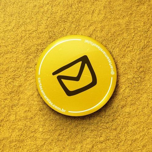 Imagem 1 de 1 de Broche Do Cartas Amarelas Oficial Setembro Amarelo