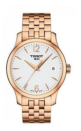 Tissot T063.210.33.037.00 Reloj Mujer Tradition Rose Gold 33