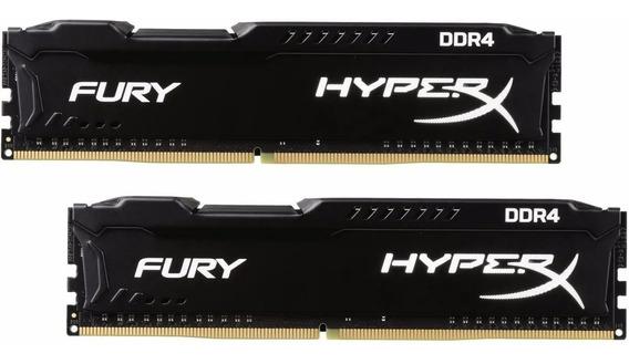 Memória Hyper X Fury 32gb Ddr4 2666mhz Hx426c16fb3/8 2 X 16