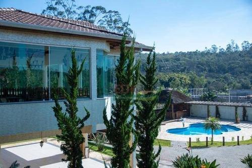 Imagem 1 de 17 de Chácara Com 5 Dormitórios À Venda, 6300 M² Por R$ 3.780.000 - Jardim Pedra Branca - Santa Isabel/sp - Ch0569