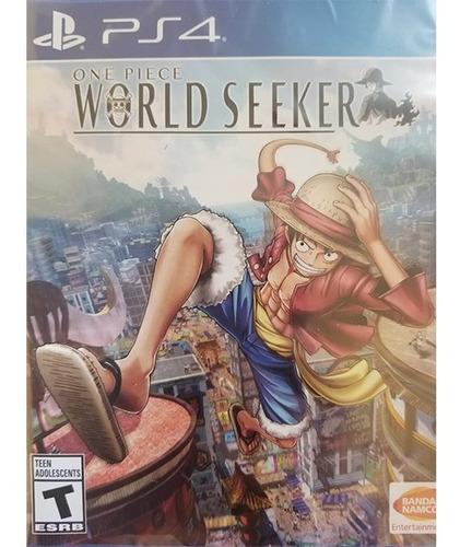 One Piece World Seeker Ps4 Nuevo Sellado Delivery