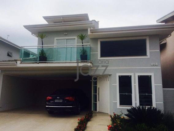 Casa Com 4 Dormitórios À Venda, 283 M² Por R$ 1.380.000,00 - Condomínio Itatiba Country Club - Itatiba/sp - Ca6775