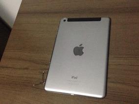 Carcaça Completa iPad Mini 3 4g Com Placa E Algumas Peças