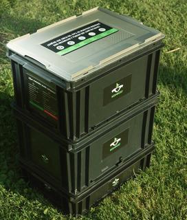 Compostera Urbana Kompost® Modelo B Plástica 40 Lts