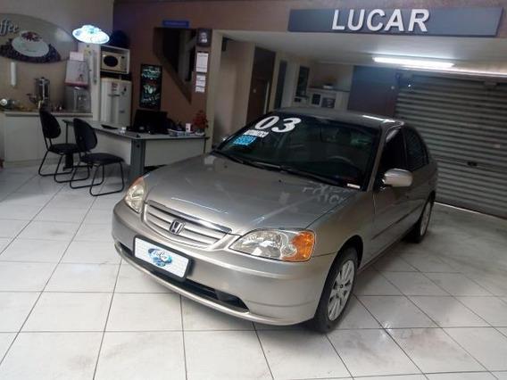 Honda Civic Sedan Lx 1.7 16v (aut) Gasolina Automático