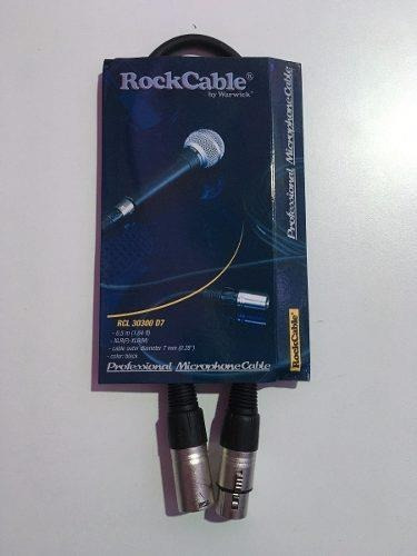 Warwick  Xlrm-xlrh X1m Rcl 30301 D7. - Cables