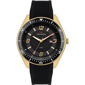 Relógio Technos Masculino Racer 2115mqs/8p Dourado C/ Nf