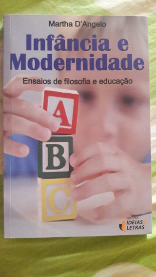 Livro Infância E Modernidade