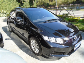 Civic 1.8 Lxl Automático 2013 Preto Flex Completo