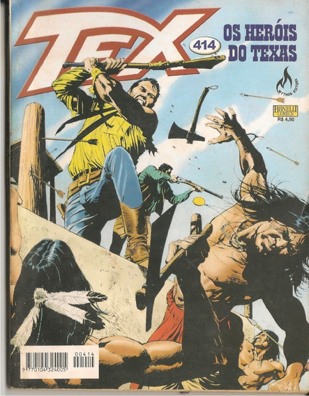 Tex 414 Ed Mythos. Os Heróis Do Texas