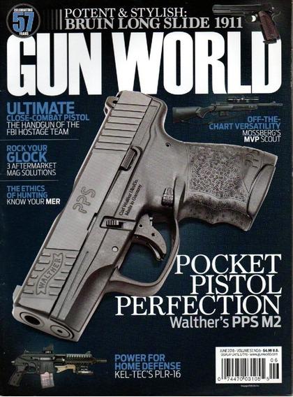 Gun World Magazine - Revista Para Conhecimento De Armamento