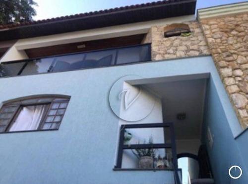 Imagem 1 de 17 de Sobrado Com 3 Dormitórios À Venda, 224 M² Por R$ 700.000,00 - Vila Camilópolis - Santo André/sp - So0988