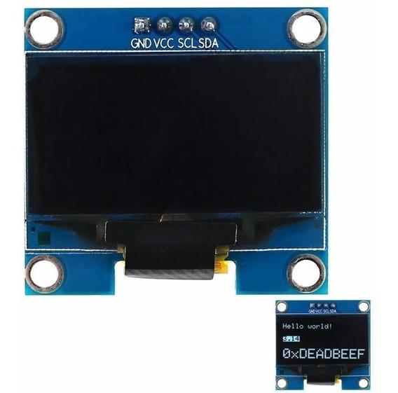 Display Oled 1.3 Blanco 128x64 I2c Delta Iot