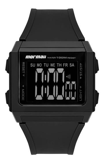 Relógio Mormaii Masculino Digital Mo9430aa/8p Preto Negativo