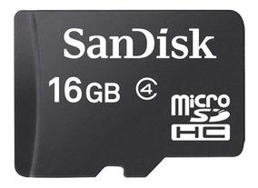 Cartão Memória Sandisk Micro Sd 16gb Lacrado Sdhc