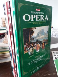 El Mundo De La Opera - Descubrimiento Italiano