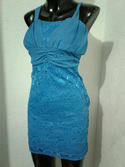 Vestido Turqueza Talla S Encage S L D