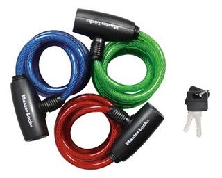 3 Cables De Seguridad Con Llave De 1.8 Mts Envío Inmediato