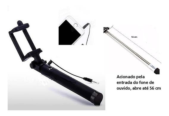 Bastão Pau Monopod De Selfie Retrátil Para Fotos Celular