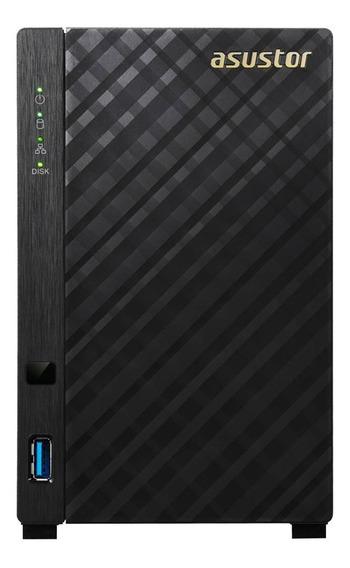 Servidor Nas Storage Asustor As1002t 2 Baias Dual Core S/ Hd