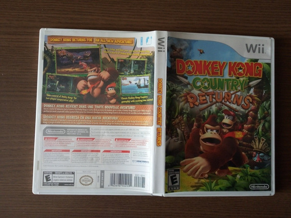 Donkey Kong Returns Wii
