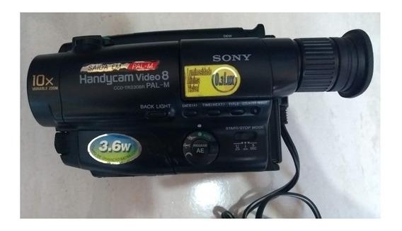 Câmera De Vídeo Sony Ccd Tr330br Necessita De Revisão