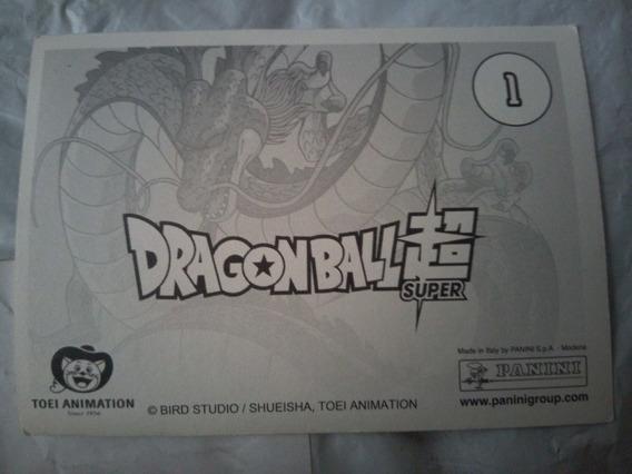 Estampas Dragon Ball Super Panini - Envío Gratis