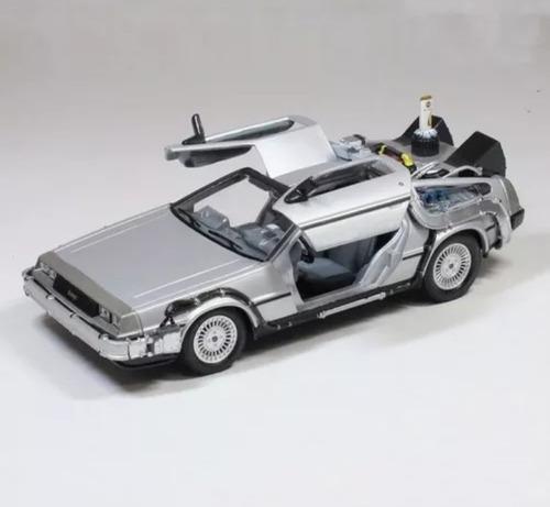 Carro Volver Al Futuro Delorean  1 /24 Colección