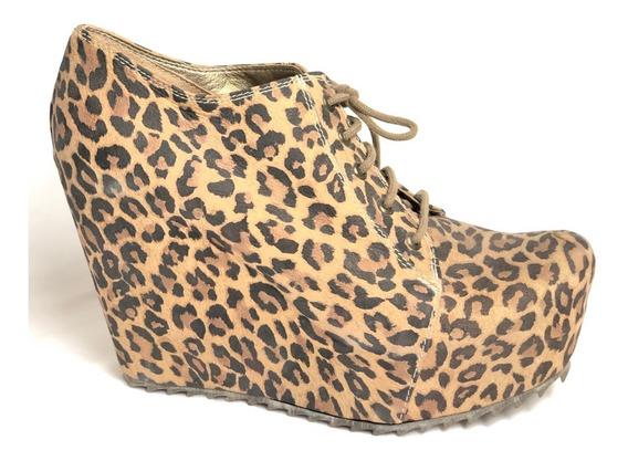 Zapato Mujer Heyas E1004 Leopardo