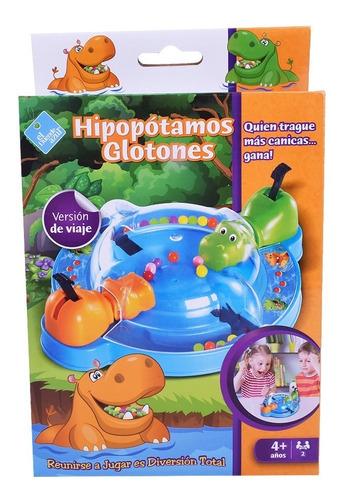 Juego De Mesa Hipopótamos Glotones El Duende Azul 7466 18cm