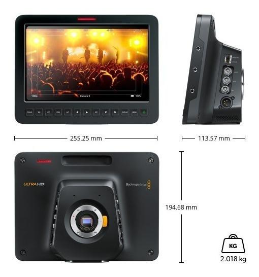 Blackmagic Design Studio Camera 4k 2 Nova Envio Imediato