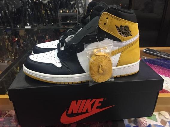 Air Jordan 1 Og Yellow Ochre Size 42