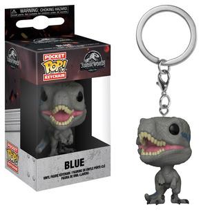 Funko Pop Llavero Blue Jurassic World - Minijuegos
