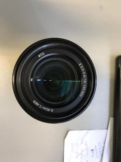Lente Sony Sel 18 135 Mm 3.5 - 5.6 Oss