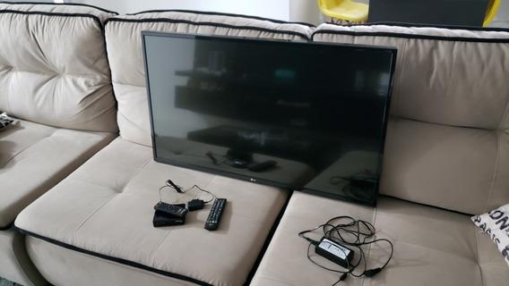 Tv 43 Polegadas LG Lcd Com Conversor