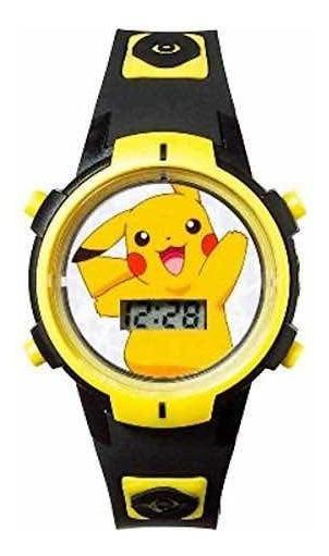 Reloj Pokemon Pikachu Nuevo Original